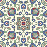 Arabesque seamless pattern. In editable vector file royalty free illustration
