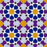 Arabesque seamless pattern Royalty Free Stock Photos