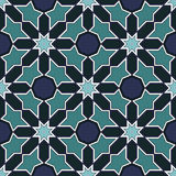 Arabesque seamless pattern Royalty Free Stock Images