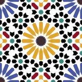 Arabesque seamless pattern Stock Photo