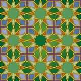 Seamless Islamic Pattern Royalty Free Stock Images