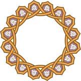Arabesque seamless pattern vector illustration