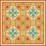 Arabesque seamless pattern Stock Photos