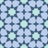 Arabesque seamless pattern Stock Image