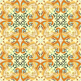 Arabesque Seamless Wallpaper Royalty Free Stock Image