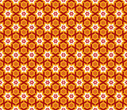 Arabesque Star hexagon Pattern Stock Image
