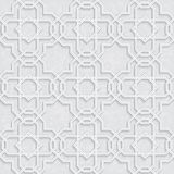 Arabesque Star Pattern with Grunge Light Grey Background, Traditional Design, Stock Photos