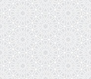 Arabesque Star Pattern Stock Photo