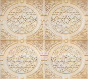 Arabesque Style Background. Arabesque style ornate architectural carving details Royalty Free Stock Images