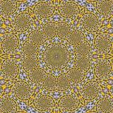 Arabesque tattoo, spiritual zen mandala for yoga with lotus. Spiritual zen mandala for yoga with lotus stock illustration