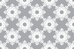 Arabesque. Vintage abstract floral seamless pattern. Vector and illustration Royalty Free Stock Image