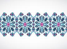 Arabesque vintage seamless border for design template vector Stock Image