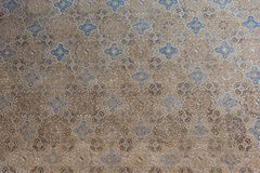 Free Arabesque Wall Decorations In Alhambra, Spain Royalty Free Stock Image - 108013686