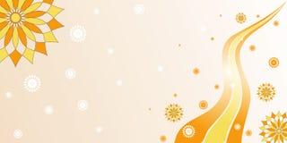 Arabesque wave royalty free illustration