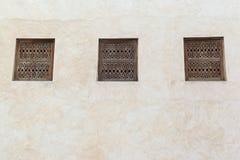 Arabesque window Stock Photo