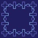 Arabesquemellanrumsgräns Arkivfoton
