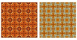 Arabesquen mönstrar sömlöst Arkivbild