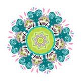 Arabesqueprydnad för din design Royaltyfri Fotografi