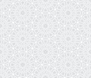 Arabesquestjärnamodell vektor illustrationer