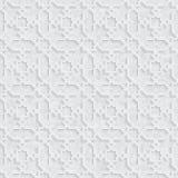 Arabesquestjärnamodell med Grungeljus Grey Background stock illustrationer