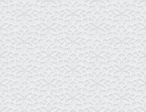 Arabesquestjärnamodell med Grungeljus Grey Background royaltyfri illustrationer