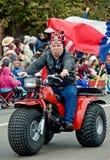 Arabia shriner in parade Royalty Free Stock Photo