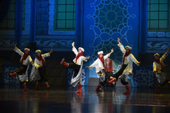 """Arabia tap dance- ballet """"One Thousand and One Nights"""" Stock Photo"""