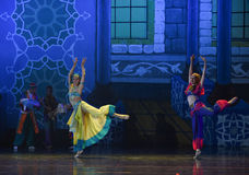 """Arabia world- ballet """"One Thousand and One Nights"""" Royalty Free Stock Images"""