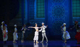 """Arabia World Festival Palace- ballet """"One Thousand and One Nights"""" Royalty Free Stock Photos"""