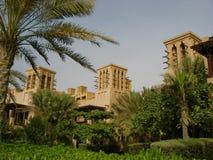 Arabian Adventure. Arabian style resort in Dubai Stock Photo