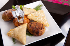 Arabian Appetizers Stock Image