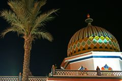 arabian architecture Στοκ φωτογραφία με δικαίωμα ελεύθερης χρήσης
