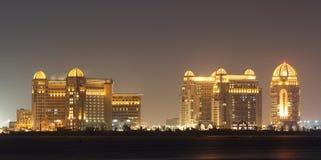 Arabian architecture in Doha Royalty Free Stock Photo