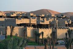 Arabian architecture resorts Royalty Free Stock Photo