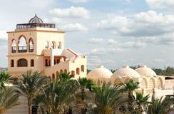 Arabian architecture style. Exterior in arabian architecture style Stock Photos