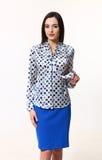 Arabian asian  brunette business executive woman Royalty Free Stock Photos