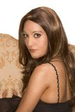arabian attractive egyptian wearing wig woman Στοκ εικόνες με δικαίωμα ελεύθερης χρήσης