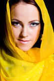 Arabian beautiful woman. Royalty Free Stock Photo