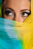 Arabian beautiful woman. Royalty Free Stock Photos