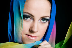 Arabian beautiful woman. Stock Image