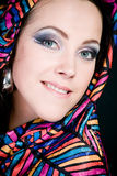 Arabian beautiful woman. Royalty Free Stock Photography
