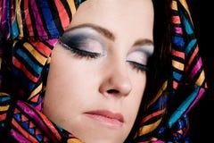 Arabian beautiful woman. Stock Photos