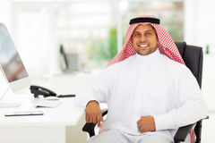 Arabian business man Stock Images