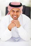 Arabian businessman office Royalty Free Stock Photography