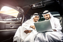 Arabian businessman portrait Stock Images