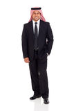 Arabian businessman in suit Royalty Free Stock Photography