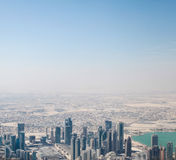 Arabian city Stock Images
