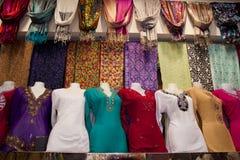 Arabian Clothes in Dubai Stock Images