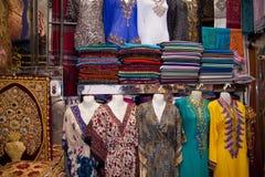Arabian Clothes in Dubai Royalty Free Stock Photo