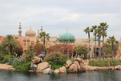 Arabian Coast at Tokyo DisneySea Royalty Free Stock Photo